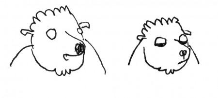 2 têtes